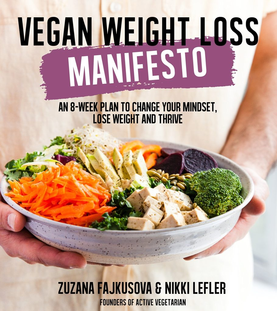 vegan weight loss manifesto book