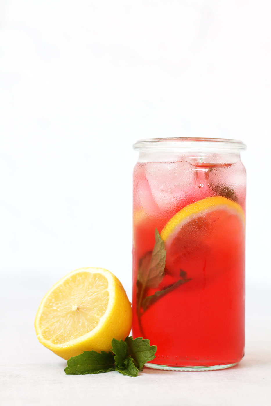 Hibiscus mint cooling tea by active vegetarian